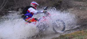 Moto-rally-guado